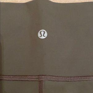 lululemon athletica Pants - Lululemon olive leggings